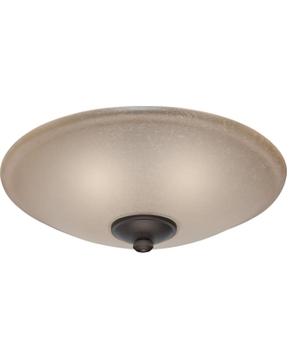Amazing Deal On Casablanca Low Profile Ceiling Fan Light Kit With Toffee Glass Maiden Bronze