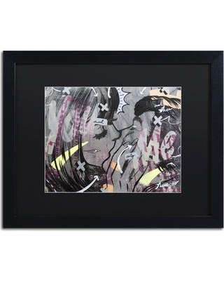 """Trademark Fine Art 'And Only' Framed Graphic Art on Canvas ALI0947-B1620BMF / ALI0947-B1114BMF Size: 16"""" H x 20"""" W x 0.5"""" D"""