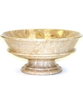 """Nature Home Decor Marble Decorative Bowl BW2A Color: Light Green Onyx, Size: 9"""" x 4"""""""