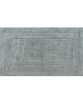 "Performance Cotton Bath Rug Classic Gray (20""x34"") - Threshold"