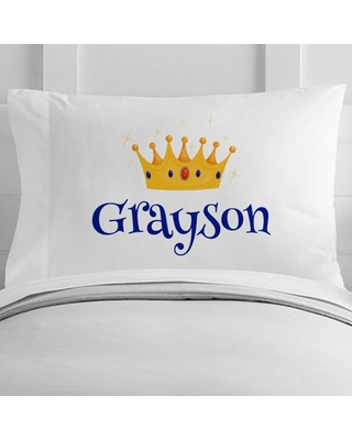 Personalized Prince Toddler Pillow Case