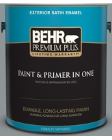 Great Deal On Behr Premium Plus 1 Gal N450 4 Moonquake Flat Exterior Paint And Primer In One