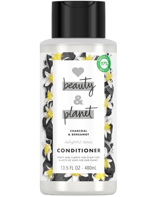 Love Beauty and Planet Delightful Detox Charcoal Conditioner - 13.5 fl oz