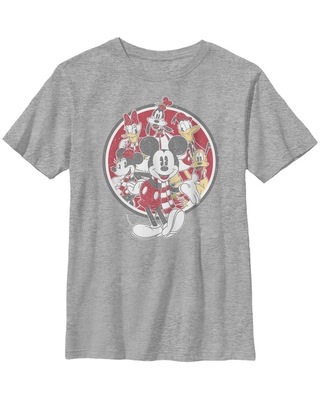 Disney Mickey Mouse Vintage Mickey Friends Youth T-Shirt