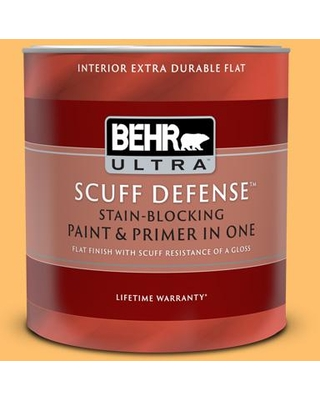 Amazing Deal On Behr Ultra 1 Qt P250 5 Solar Storm Extra Durable Flat Interior Paint And Primer In One