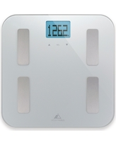 Weight Gurus AppSync Smart Scale with Body Composition - Silver, Silver Mist