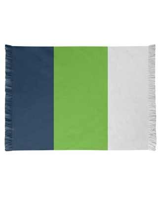 Seattle Football Green/Blue Area Rug East Urban Home Backing: No