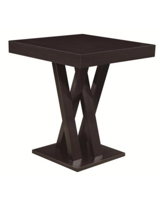 BM68966 Contemporary Style Wooden Bar Table