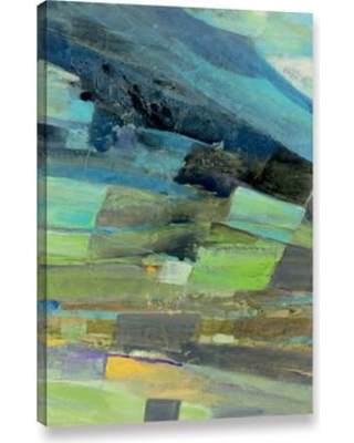 """Langley Street View From the Coast I Painting Print on Wrapped Canvas LGLY4126 Size: 48"""" H x 32"""" W x 2"""" D"""
