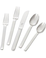 Zwilling JA Henckels Captivate 5 Piece 18/10 Stainless Steel Flatware Set Service for 1 22806-305