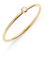 Set & Stones Presley Stacking Ring, Size 6 in Gold/Clear at Nordstrom