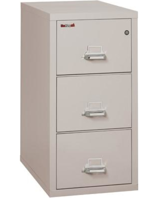 Genial FireKing Fireproof 3 Drawer Vertical File Cabinet 3 2131 C Color: Platinum