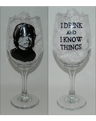 Tyrion Lannister wine glass