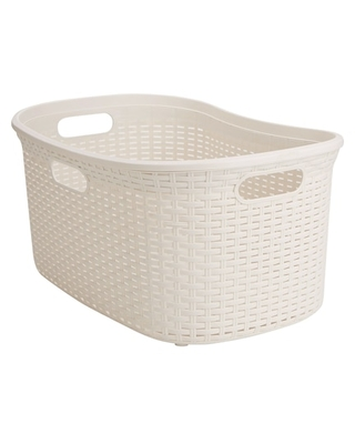Mind Reader Ivory Laundry Basket with Cutout Handles | Michaels®