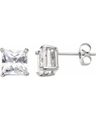 aa69ca8514d New Savings on Men s Stainless Steel Cubic Zirconia Square Stud ...