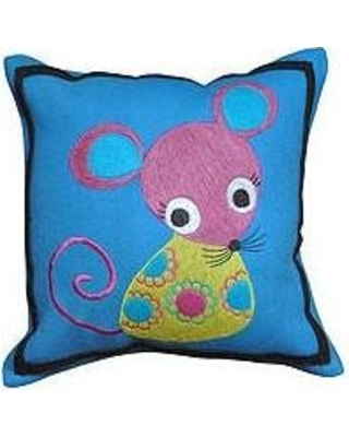 Amity Home Mouse Wool Throw Pillow SG118