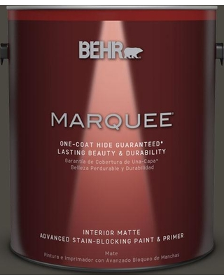 BEHR MARQUEE 1 gal. Home Decorators Collection #HDC-CL-14A Warm Onyx Interior Matte Paint & Primer