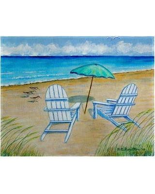 "Highland Dunes Neela Chairs 18"" Placemat HGLN1591"