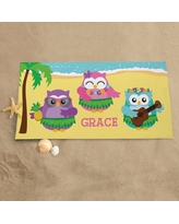 Personalized Hula Party Beach Towel
