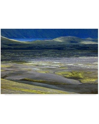 """Millwood Pines 'Iceland Landscape 19' Photographic Print on Wrapped Canvas MIPN1828 Size: 22"""" H x 32"""" W x 2"""" D"""