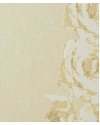 """Walls Republic Passion Striped 32.97' x 20.8"""" Floral and Botanical Wallpaper R176 Color: Yellow"""