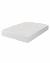 All-In-One Bed Zippered Mattress Cover with Bug Blocker, Twin Xl - White