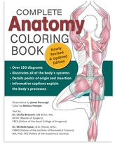 Fox Chapel Publishing Coloring Books - Complete Anatomy Coloring Book