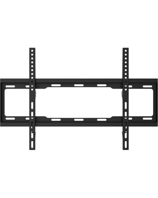 ProMounts Large Flat TV Wall Mount for 42 to 80 inch, Black