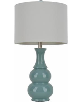 Decor Therapy Green Ceramic Table Lamp, Lt Green