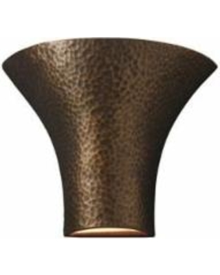 Justice Design Group Ambiance 12 Inch Wall Sconce - CER-8811-HMBR