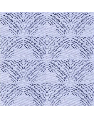 East Urban Home Wool Blue Area Rug W002513302 Rug Size: Square 5'