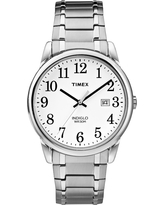 Men's Timex Easy Reader Expansion Band Watch - Silver TW2P81300JT