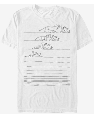 Disney The Lion King No Worry Lines T-Shirt