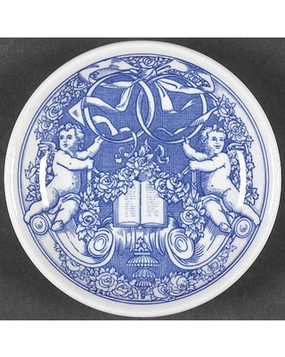 Spode Blue Room Collection Bomboniere (Coupe Plate)