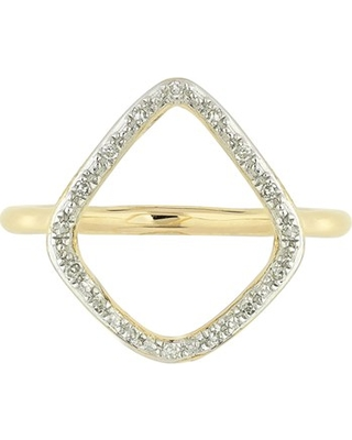 Women's Monica Vinader Riva Diamond Hoop Ring