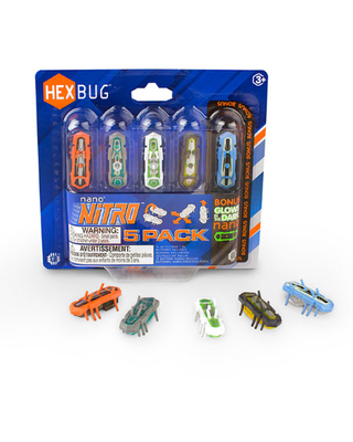 Nano Nitro - 5 Pack - Imaginative Play for Ages 3 to 8 - Fat Brain Toys