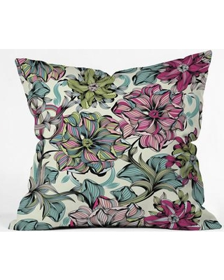 "East Urban Home Polyester Throw Pillow EHME7787 Size: 26"" H x 26"" W x 7"" D"