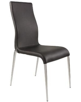 New Spec Side Chair 447004W / 447004B Upholstery Color: Black