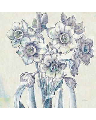 Sales On Lark Manor Belle Fleur Iv Graphic Art On Wrapped Canvas Canvas Fabric In Brown Gray White Size 37 H X 37 W X 1 5 D Wayfair