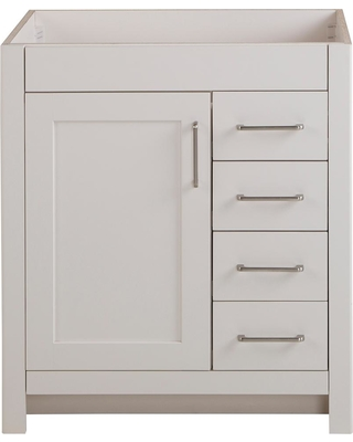 Remarkable Deals On Home Decorators Collection Westcourt 30 In W X 21 In D Bathroom Vanity Cabinet Only In Cream