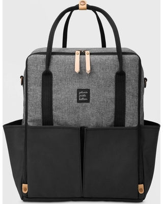 Petunia PickleBottom Diaper Bag - Black Graphite