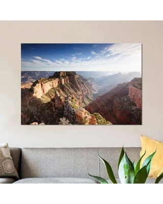 "East Urban Home 'Sunset Cape Royal Grand Canyon National Park Arizona USA' Photographic Print on Wrapped Canvas ESRB9346 Size: 18"" H x 26"" W x 1.5"" D"