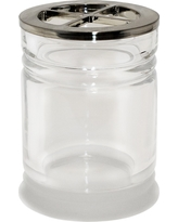 Toothbrush Holder Frosted - Threshold, Clear