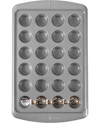 New Deal On Wilton Ever Glide Muffin Pan Cup Cakes Roasted Veggies Shredded Potato Egg Cups And More 24 Cup