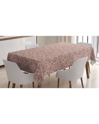 Spring Petal Swirled Branch Blossom Nature Beauty Essence Vibrant Image Tablecloth East Urban Home