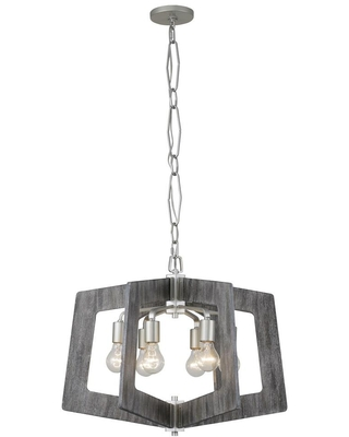 Varaluz Lofty 6-Light Silverado Chandelier