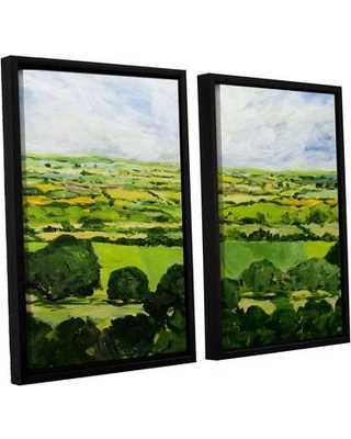 Darby Home Co Kensworth 2 Piece Framed Painting Print on Canvas Set DRBC2870