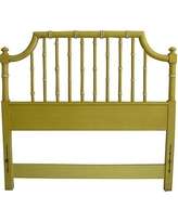 Consigned - Vintage Thomasville Faux Bamboo Headboard, Twin