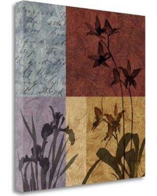 "Tangletown Fine Art 'Floral and Still Life Refrain II' Graphic Art Print on Wrapped Canvas CA312856-2020c Size: 30"" H x 30"" W"