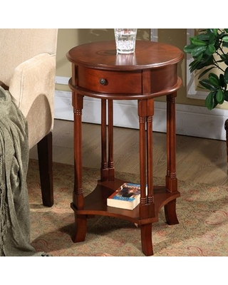 Asheville End Table with Storage Darby Home Co